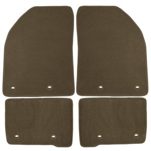 Coverking Front And Rear Floor Mats For Nissan Titan   70 Oz Carpet